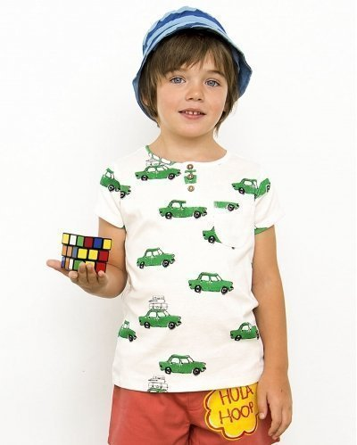 Sun Hat Sea Waves In Blue