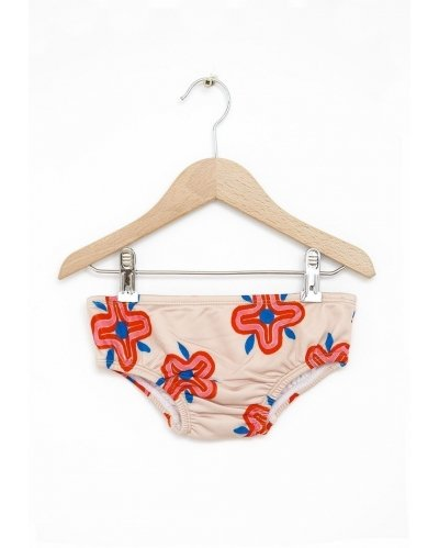 Swim Set Bottom 70S Flowers