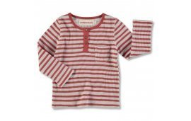 CAMISETA CON BOTONES RED STRIPES