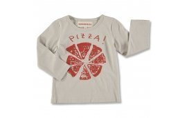 TEE PIZZA RED