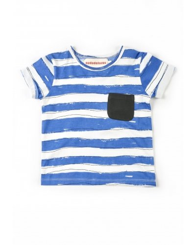 T-SHIRT BLUE STRIPES
