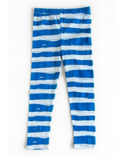 LEGGINGS BLUE STRIPES