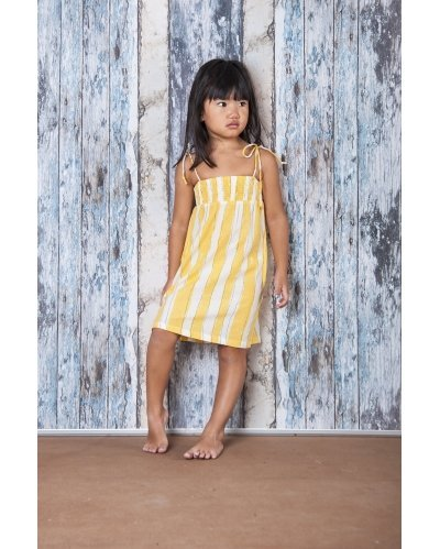 VESTIDO YELLOW STRIPES