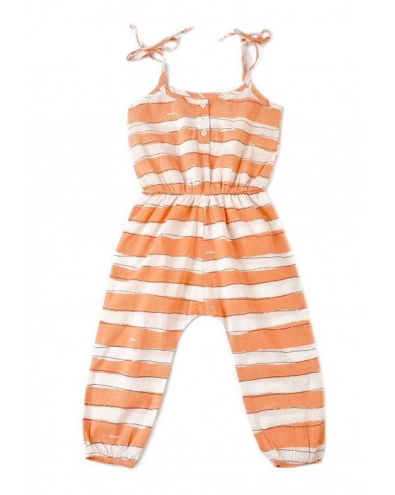 JUMPSUIT PINK STRIPES