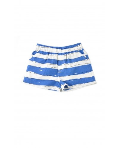 SHORT BLUE STRIPES