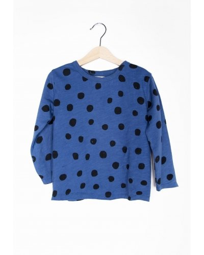 T-SHIRT BLUE DOTS