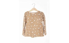 T-Shirt Beige Dots