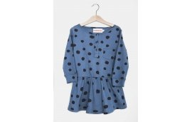 DRESS BLUE DOTS