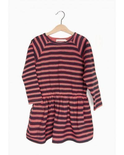 VESTIDO RED STRIPES