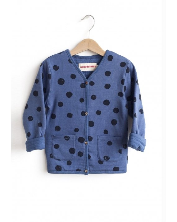 JACKET BLUE DOTS