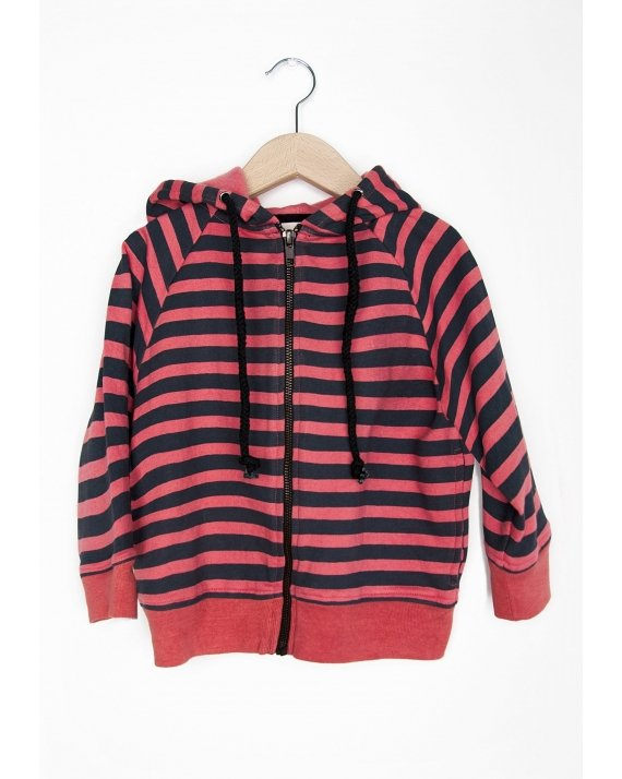 SUDADERA CON CAPUCHA RED STRIPES
