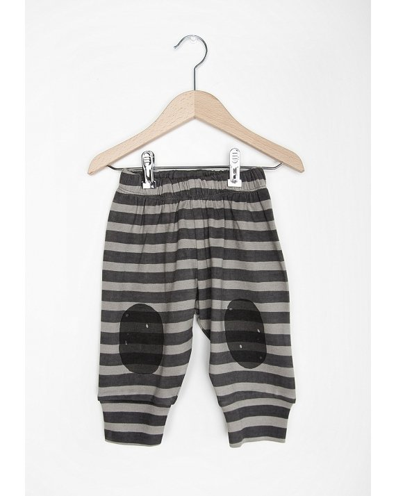 PANTALÓN DE BEBÉ GREY STRIPES