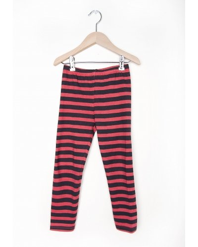 LEGGINGS RED STRIPES
