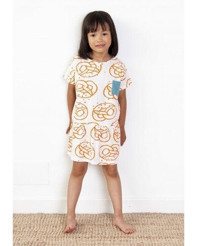 T-SHIRT DRESS BIG BREZEL