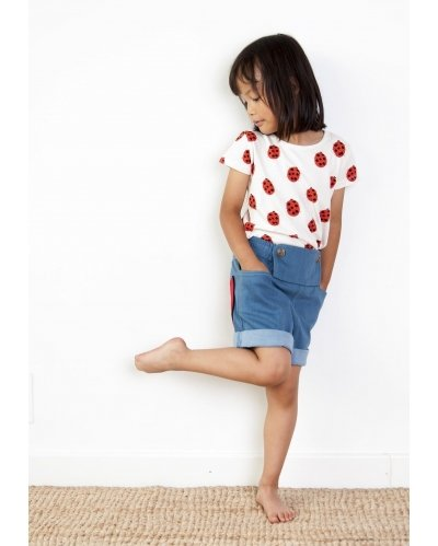 CAMISETA LADY BUG