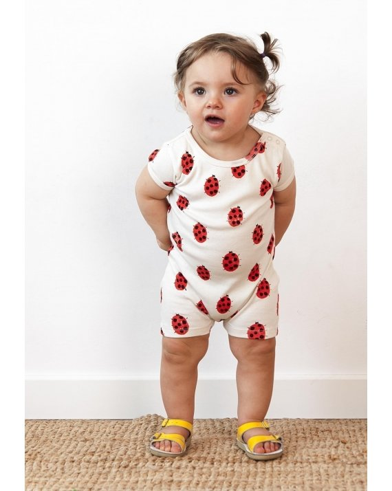 ROMPER LADY BUG