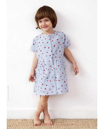 TUNIQUE DRESS MINI DOTS