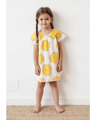 DRESS YELLOW FLOWERS