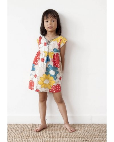 TUNIQUE DRESS ALP FLOWERS