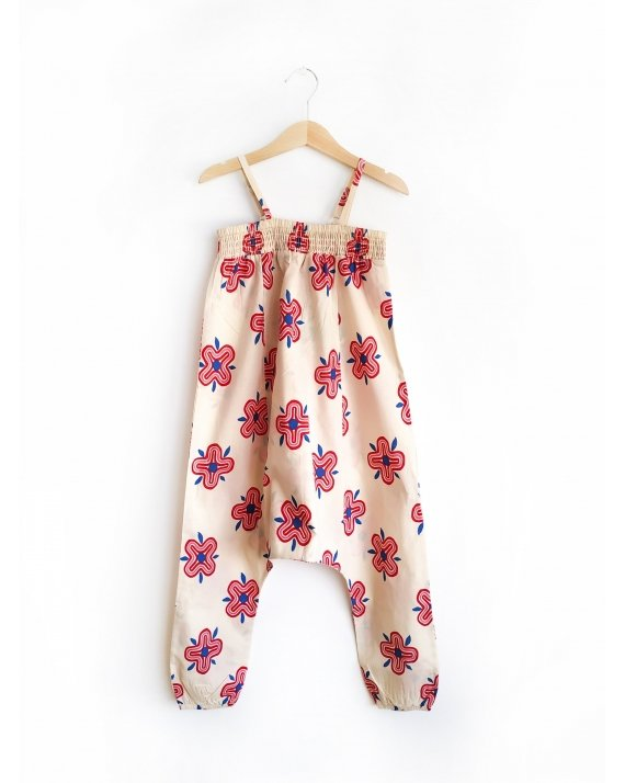 Jumpsuit 70S Flowers