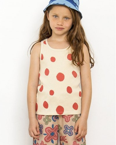 T-Shirt Dots In Red