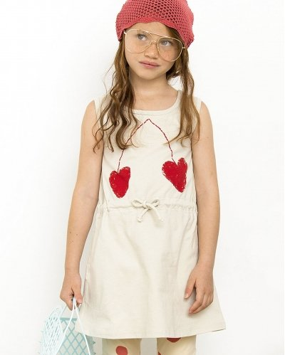 Vestido Sin Mangas Big Cherry