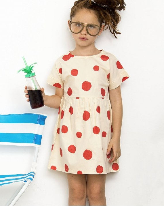 Dress Dots In Red