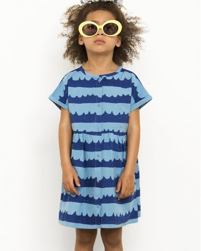 Dress Sea Waves In Blue