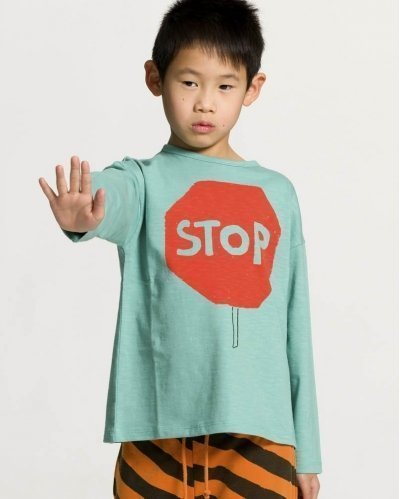 Camiseta Manga Larga Stop and Go