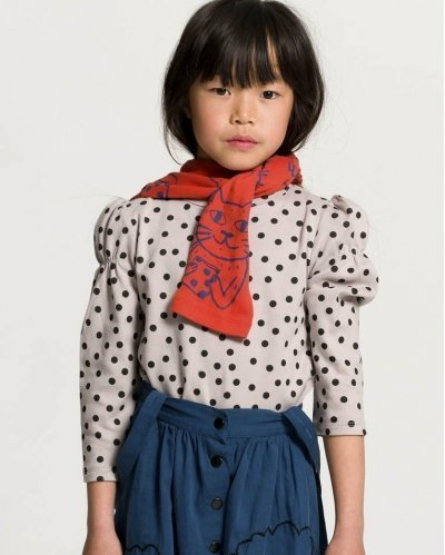 Camiseta Manga Larga Dots Annabel