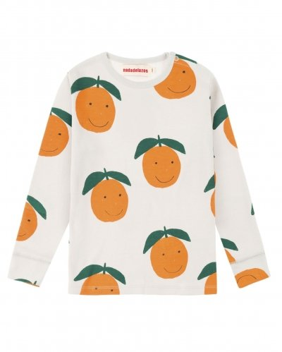 Camiseta Manga Larga Happy Oranges