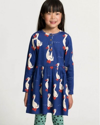 Dagmar The Duck Buttons Dress