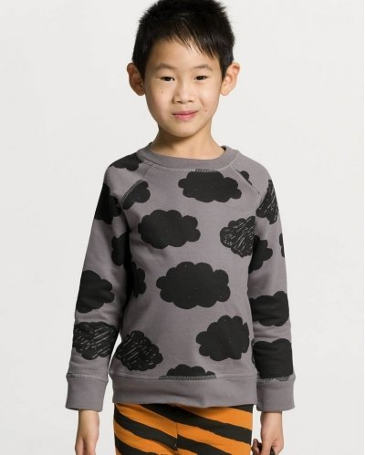Clouds Grey Sweatshirt