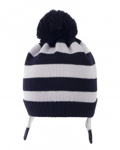 Crosswalk Striped Beanie