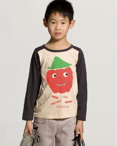 Red Pepper Long Sleeve T-shirt