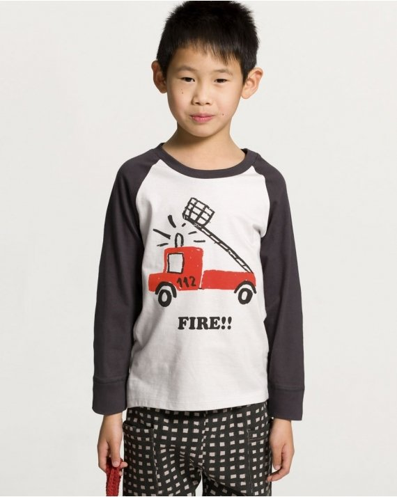 Camiseta Manga Larga Fire Brigade