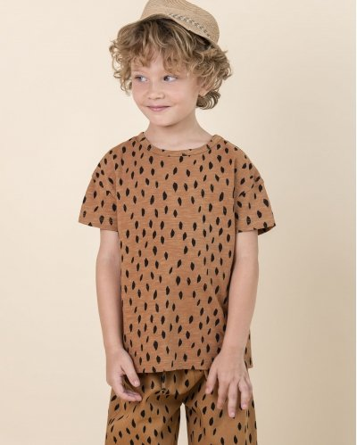 T-Shirt Cardamom Brown