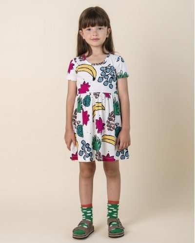 Vestido Manga Corta Fruit Mix