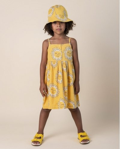Dress Deep Soul Yellow Straps