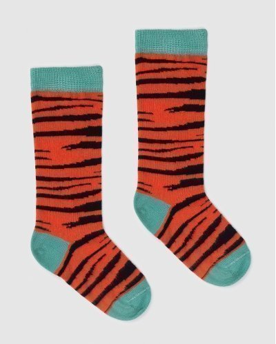 Socks Tiger Skin