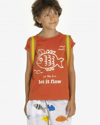 Camiseta Let It Flow