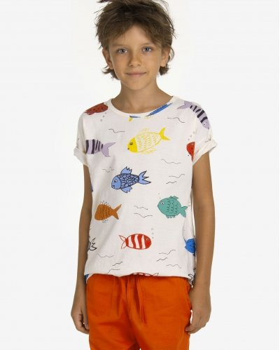 T-Shirt Fishes in the River