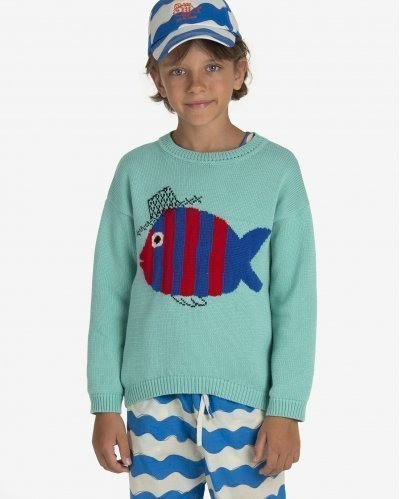 Sweatshirt Fish & Blub
