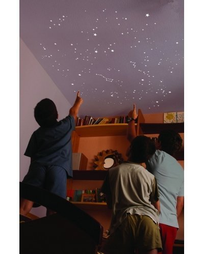 The firmament in your room. The night sky