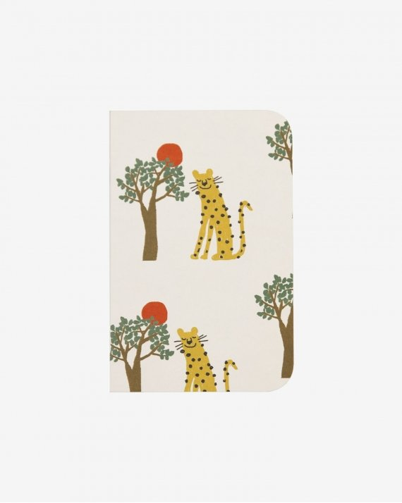 Notebook A6 Leopard And Tree