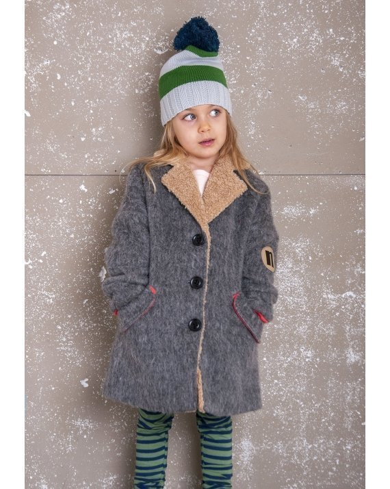 WOOLEN COAT GREY