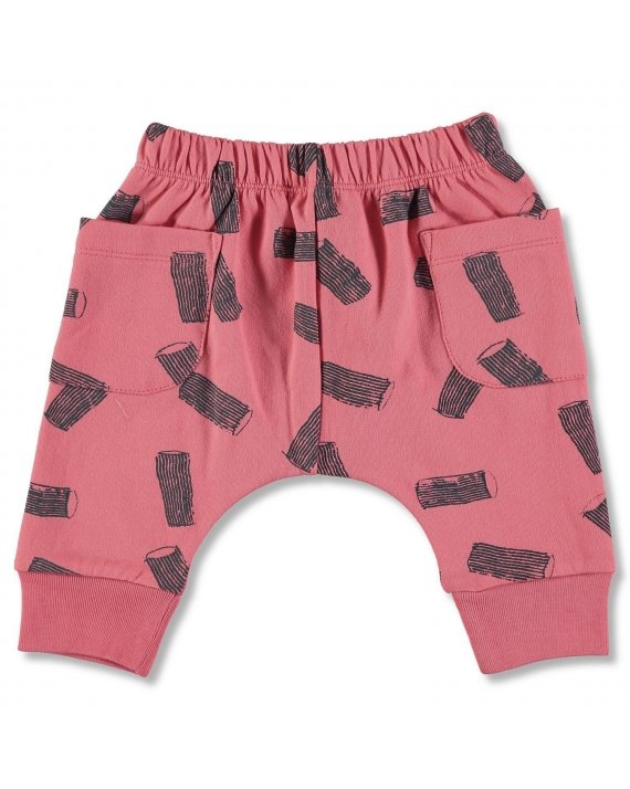 PANTALON JOGGING RED RIGATONI