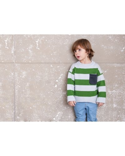 KNITTED JUMPER STRIPES